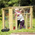Outdoor Wooden Mark Making Den,Millhouse discount codes,Millhouse resources,educational resources, educational materials, children's learning resources, children's learning materials, teaching resources for children, teaching material for children